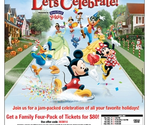 DISNEY ON ICE PRESENTS LET'S CELEBRATE! @ CITIZENS BUSINESS BANK ARENA