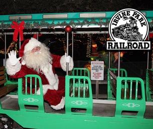 Don't Miss The Annual Irvine Park Railroad Christmas Train!
