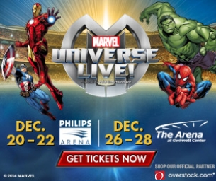 See Marvel Universe Live! at Arena at Gwinnett Center Dec. 26-28