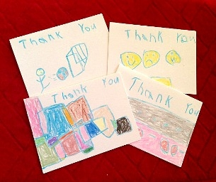 An After-Holiday Activity: Writing Thank You Notes