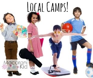 In This Week's Newsletter- SPRING BREAK Camps!