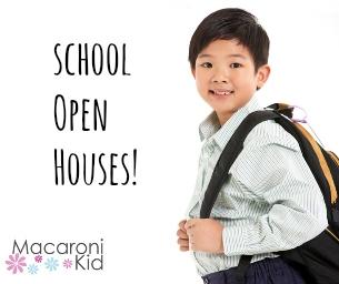 2015 School Open Houses