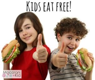 Fall/Winter 2014-2015 Kids Eat Free in the PBG -Jupiter Area!