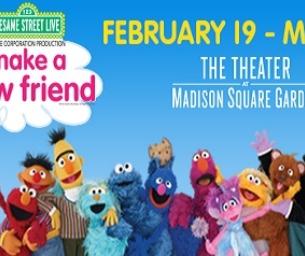 Sesame Street Live at Madison Square Garden