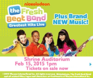 NICKELODEON'S THE FRESH BEAT BAND ARE BACK