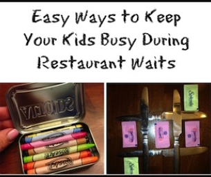 Easy Ways to Keep Your Kids Busy During Restaurant