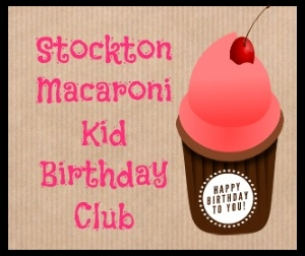 Free cupcake for Birthday Club members