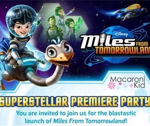 Disney Junior's Miles From Tomorrowland