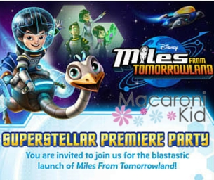 """Macaroni Kid's """"Miles From Tomorrowland"""" Premiere Party"""