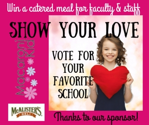 Voting Still Open ~ Show Your Love School Contest