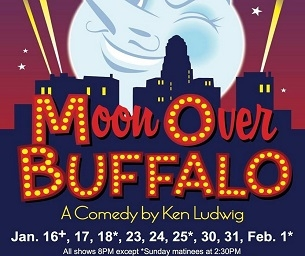 MOON OVER BUFFALO AT NORTH FORK COMMUNITY THEATRE