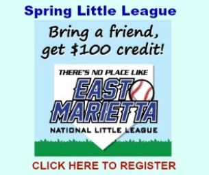 East Marietta National Little League is Gearing Up For a Great Season!