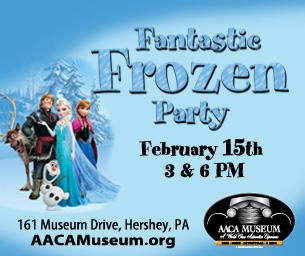 Giveaway: Fantastic Frozen Party at AACA Museum