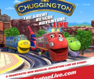 GIVEAWAY: Chuggington LIVE! 4-pack of tickets