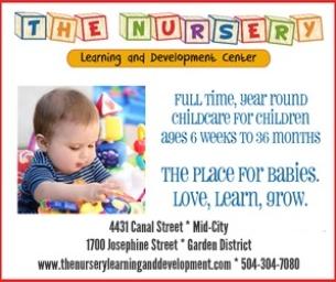 The Nursery ~ The place for babies. Love. Learn. Grow.