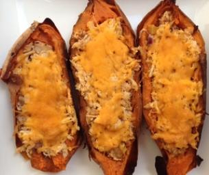 Macaroni Menus: Sweet Potato Skins