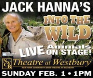 Winner: Family 4 Pack of Tickets to Jack Hanna Into the Wild