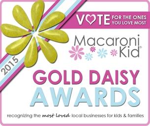 2015 Macaroni Kid Middletown Gold Daisy Awards!!