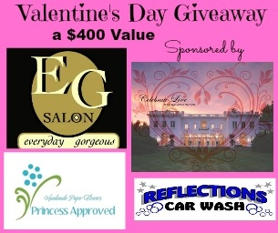 Celebrate Love ~ A Valentine's Day Giveaway Valued at $400