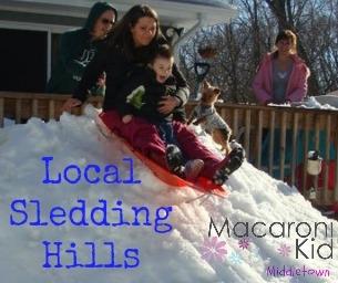 Local Sledding Hills