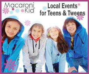Events/Activities for Teens & Tweens - 2014