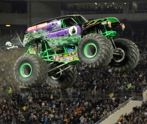 Win a Family Four Pack of Tickets to Monster Jam