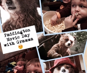 """""""Paddington"""" Day at the Movies with Grammy"""
