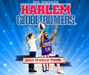 Enter to WIN a 4-pack of TIX to the Harlem Globetrotters