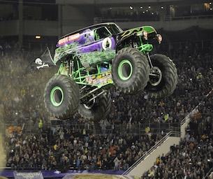 Monster Jam Roars on in!