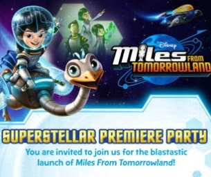 Miles from Tomorrowland premiere party