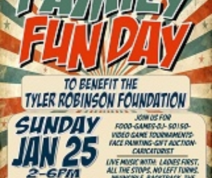 Family Fun Day on Sunday, January 25 at Game Changer World