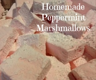 Make Your Own Peppermint Marshmallows