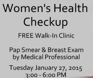 Free Women's Health Checkup at Old Towne Medical Center