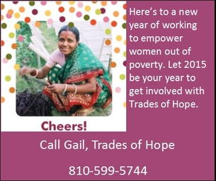 Shop Trades of Hope and Make a Difference in Another Women's Life
