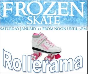 Frozen Skate at Rollerrama