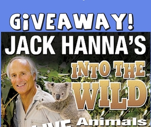 Enter to win a family 4 pack of tickets to see Jack Hanna Live!