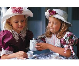 Having a Tea Party with Your Preschooler