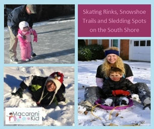 Skating Rinks, Snowshoe Trails and Sledding Spots on the South Shore