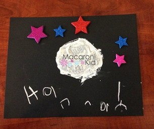 MK Creates - Moon Paintings with Craters