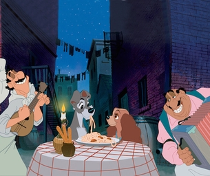 """Celebrate Valentine's Day at El Capitan with """"Lady and the Tramp"""""""