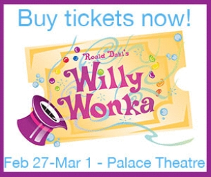 The Palace Theatre welcomes 'Willy Wonka'