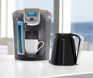 Keurig 2.0 Offers the Ultimate in Coffee Versatility - Cups & Carafes!