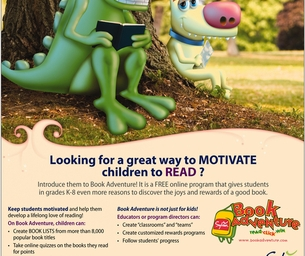 Sylvan Learning Introduces Book Adventure!