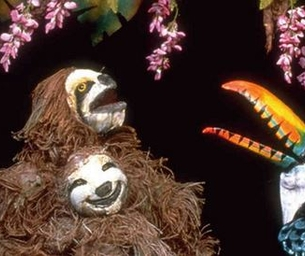 WIN: 2 Tix to Rainforest Adventures @ Center for Puppetry Arts