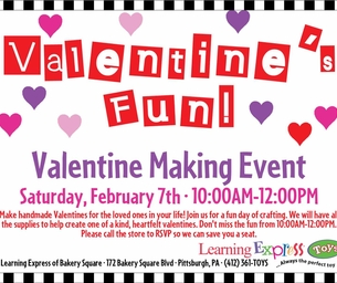 Valentine Making Event