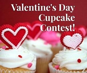 Valentine's Day Cupcake Contest