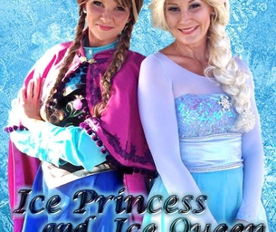 Family First Monday at Station Park with the Ice Princess & Ice Queen
