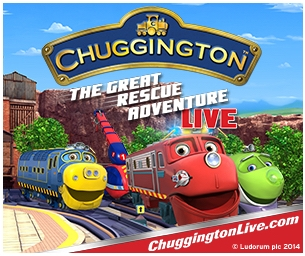 Chuggington Is On Track for Live Show Tour Pittsburgh 1/ 31/2015!