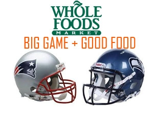 Whole Foods' Healthy Snacks For the BIG GAME!