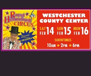 GIVEAWAY: Royal Hanneford Circus at Westchester County Cente